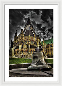 Library Bell - Framed Print