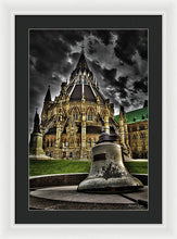 Load image into Gallery viewer, Library Bell - Framed Print