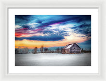 Load image into Gallery viewer, Water Color Barn - Framed Print