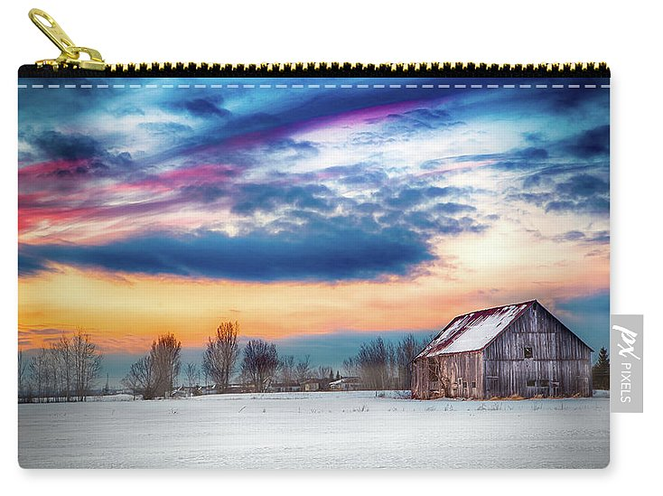 Water Color Barn - Carry-All Pouch