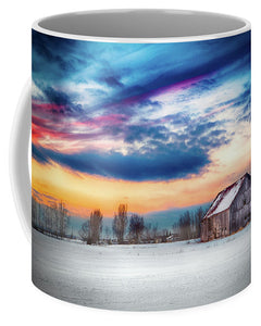 Water Color Barn - Mug