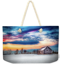 Load image into Gallery viewer, Water Color Barn - Weekender Tote Bag