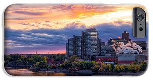Portage Fall Sunset Colors - Phone Case