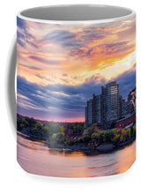 Load image into Gallery viewer, Portage Fall Sunset Colors - Mug