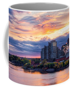 Portage Fall Sunset Colors - Mug