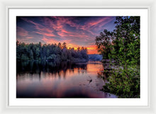 Load image into Gallery viewer, Purple Pass - Framed Print