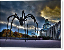 Load image into Gallery viewer, Spider Art - Canvas Print