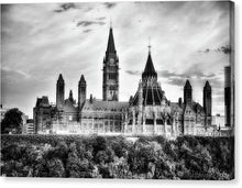Load image into Gallery viewer, The Canadian Parliament - Canvas Print
