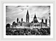 Load image into Gallery viewer, The Canadian Parliament - Framed Print