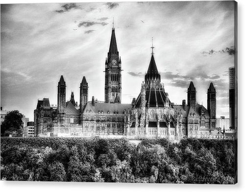 The Canadian Parliament - Acrylic Print
