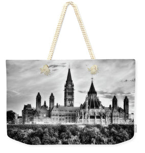 The Canadian Parliament - Weekender Tote Bag