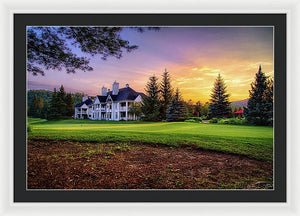 The Clubhouse - Framed Print