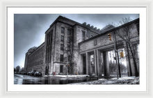 Load image into Gallery viewer, West Memorial Building - Framed Print