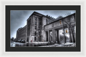 West Memorial Building - Framed Print
