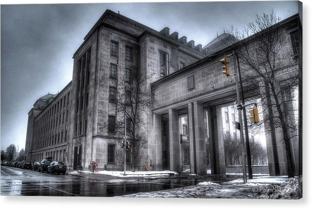 West Memorial Building - Acrylic Print