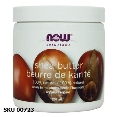 Beurre de Karité, NOW SOLUTIONS 207ml