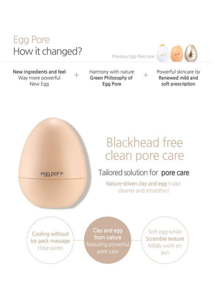 Tony Moly, Egg Pore Tightening Cooling Pack, 30 g