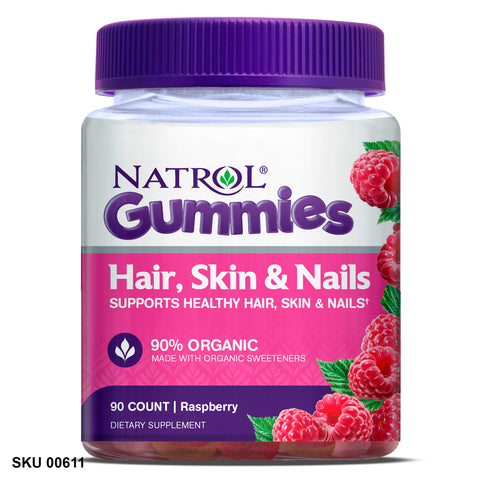 Vitamines Hair, Skin & Nails Gummies NATROL