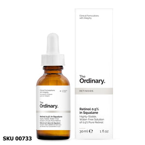 Retinol 0.5% In Squalane 30ml THE ORDINARY