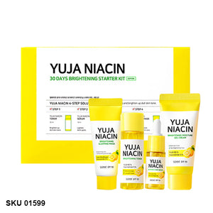 Some By Mi, Yuja Niacin 30 days miracle brightening starter kit, 4 pièces