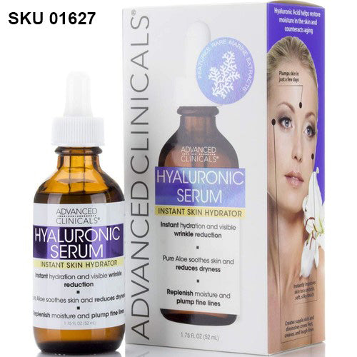 Advanced Clinicals, Hyaluronic Serum, Instant Skin Hydrator (52 ml)