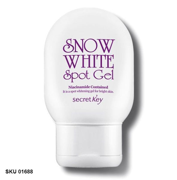 Secret Key, Gel spot Snow White, Crème blanchissante, 65 g