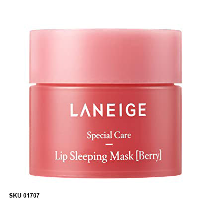 Laneige, Lip Sleeping Mask, Berry, 8g