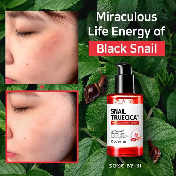 Some By Mi, Sérum miracle réparateur snail truecica 50 ml