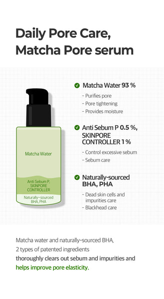 Some By Mi, Sérum Super Matcha Pore Tightening, 50ml