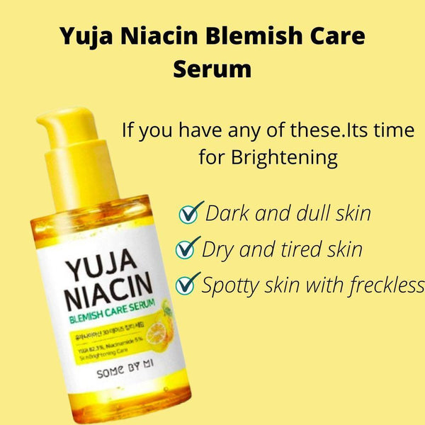 Some By Mi, Sérum anti-imperfections Yuja Niacin Brightening (50 ml)