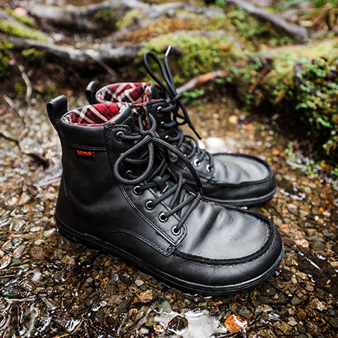 93b6dc82a87 Leather Boulder Boot | Women's Zero Drop Minimalist Boots | Lems ...