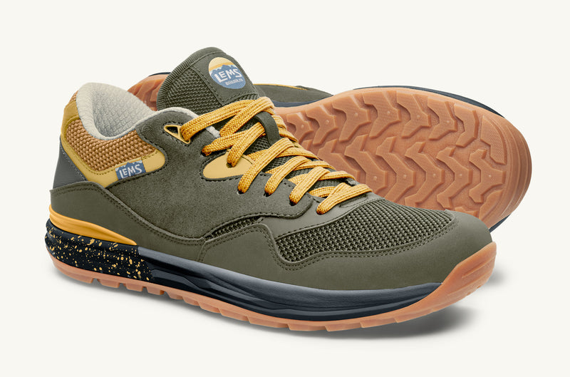 Men's vegan minimalist hiking Trailhead shoe Sage