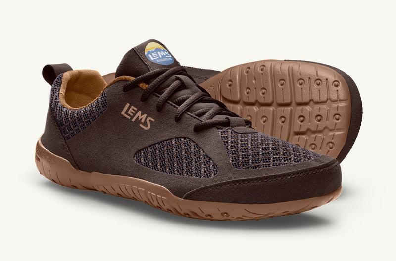 Lems Women's Brown Primal 2 minimal running shoe