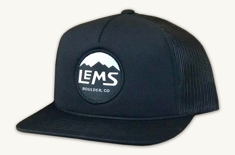 Lems Trucker Black Hat
