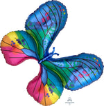 Metallic Butterfly Supershape, 31in