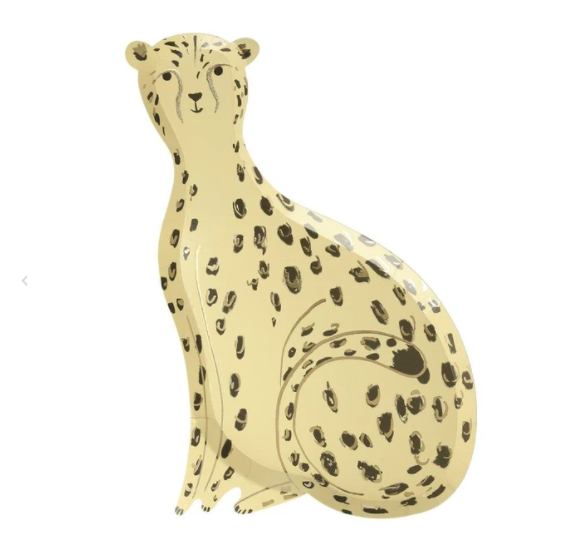 Safari Cheetah Plates