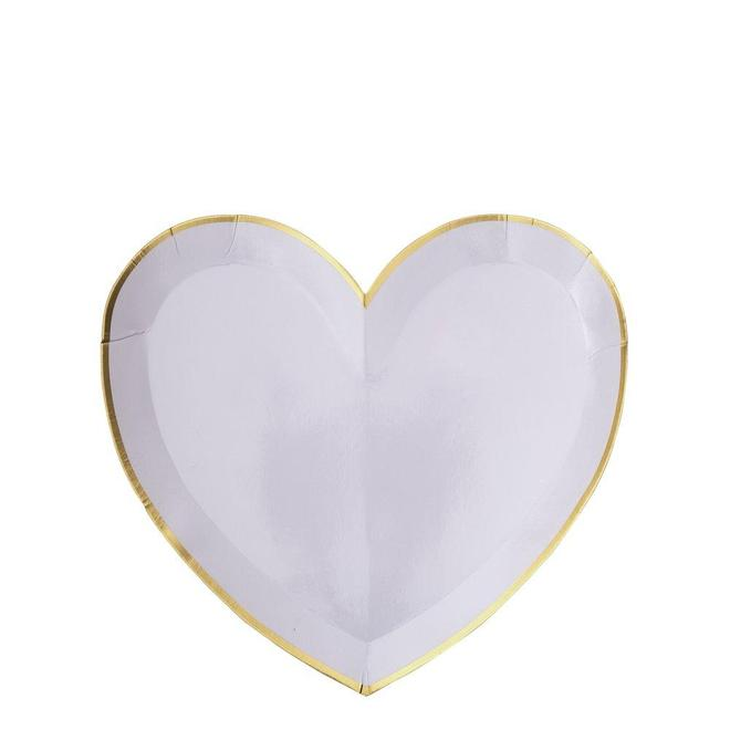 Party Palette Heart Plates (Small)