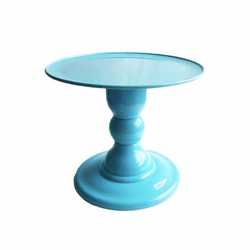 Blue Sky Mosaic Cake Holders - For Rent