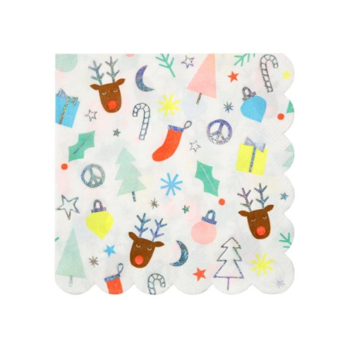 Festive Fun Napkins (Large)