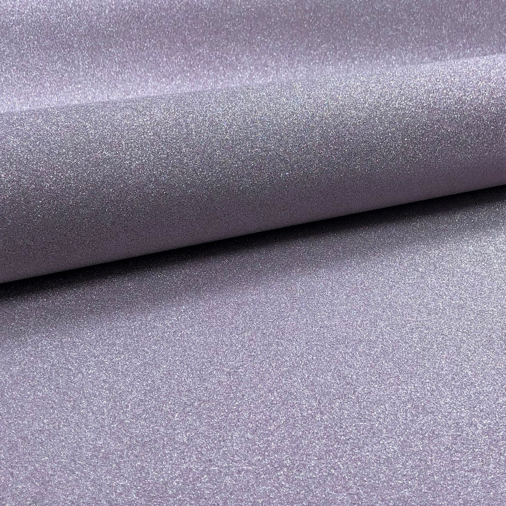 "Adhesive Light Purple Glitter Scrapbook Paper - 24"" x 17"""