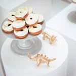 Gray Mosaic Cake Holders - For Rent