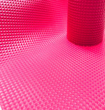 "Checkered Hot Pink Faux Leather scrapbook sheet 17""x12.5"""