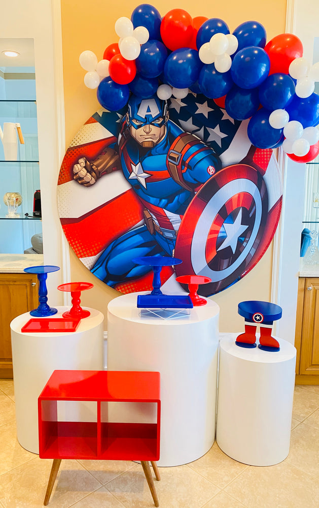 Captain America Stand - For Rent