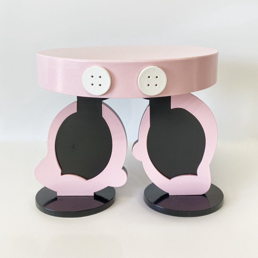 Pink Minnie Mouse Shoes Tabletop Stand- For Rent