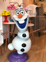 4 ft tall Frozen Stand alone Olaf  - For Rent