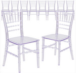 Clear Chiavari Kids Chair 12 units available- For Rent