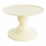 "Light Yellow Small Stand with 9"" Round Plate (135/220)"
