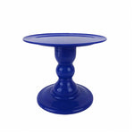 Royal Blue Mosaic Cake Holders - For Rent