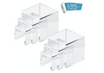 Acrylic Tabletop Display Riser Set of 3- For Rent