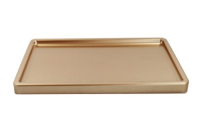 Gold Tray Display